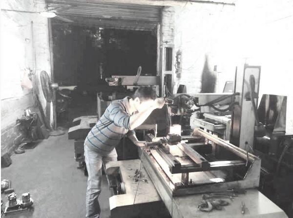procesamiento de metales en fábrica